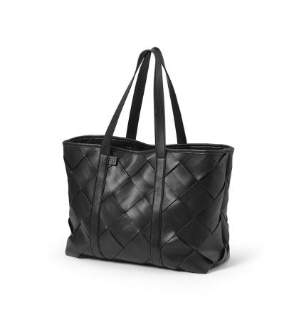 Prebaľovacia Taška Tote - Braided Leather -Elodie