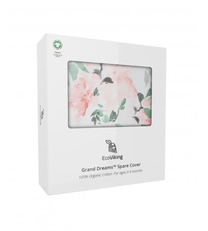 Poťah na hniezdo pre bábätko Rose Garden EcoViking