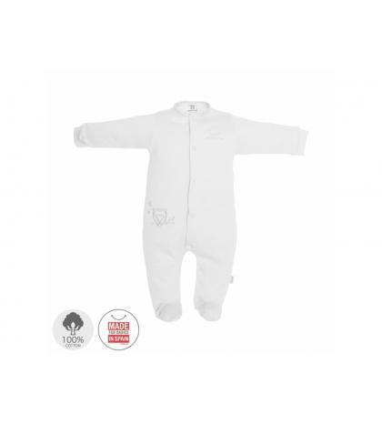 Dojčenský overal veľkosť 56 biely 699 Cambrass