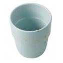 Done by Deer pohárik contour yummy mug zlato/morý