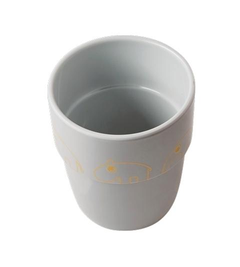 pohárik contour yummy mug Done by Deer zlato/sivý