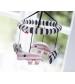 Hudobný kolotoč nad postieľku zoopreme DONE BY DEER ružový