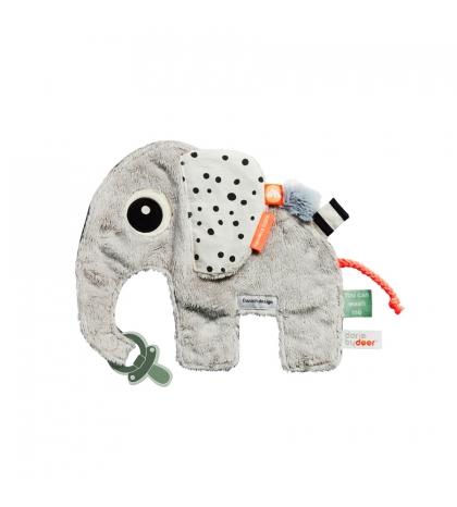 DONNE BY DEER Mojkáčik sloník Elphee  sivý