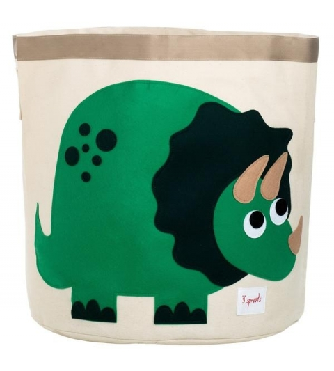 3 Sprouts Storage Bin - Koš na hračky dino
