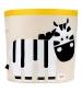 3 Sprouts Storage Bin - Koš na hračky zebra