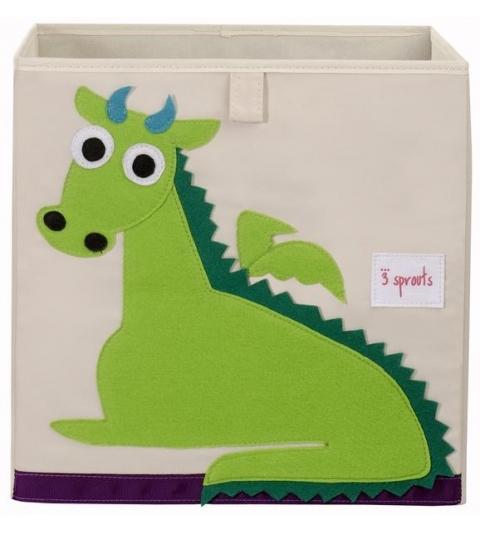 3 Sprouts Storage Box - Úložný box drak