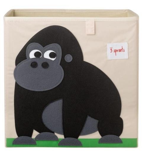 3 Sprouts Storage Box - Úložný box gorila
