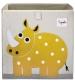 3 Sprouts Storage Box - Úložný box nosorožec