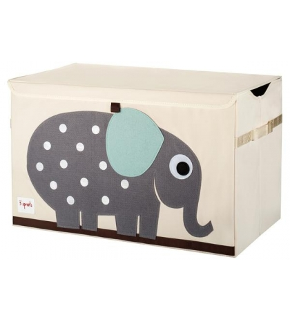 3 Sprouts Storage Bin - Koš na hračky slon