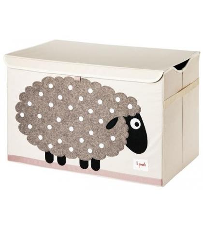 3 Sprouts Storage Bin - Koš na hračky ovečka