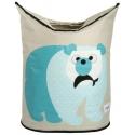 3 Sprouts Laundry Hamper - Kôš na bielizeň ľadový medveď