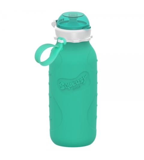 Silikónová fľaša  SQUEASY GEAR 480ML aqua
