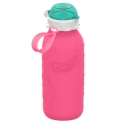 Silikónová fľaša  SQUEASY GEAR 480ML ružová
