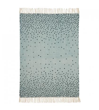 koberec Done by  Deer 90x120 cm modrý