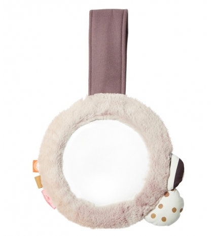 zrkadielko s klipom ružové  Done by Deer
