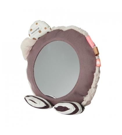 zrkadlo na podlahu Done by Deer ružové