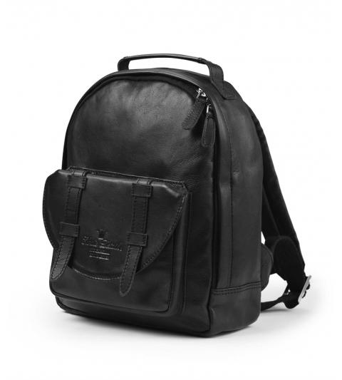 Back Pack MINI ruksak Black Leather  Elodie Details