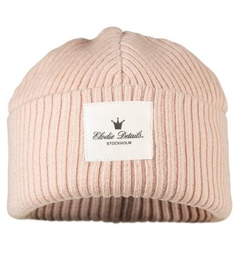 Vlnená čiapka - Wool cap -Powder Pink   Elodie Details