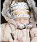 Čiapka Winter Beanie - Gilded Dots of Fauna    Elodie Details