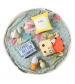 Play&Go 2v1 hracia deka / vak na hračky PRINTED cesta