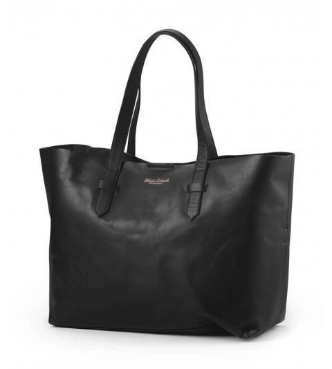 Prebalovacia taška Black Leather Elodie Details