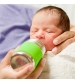 Pura® nerezová dojčenská fľaša 150ml- ružová