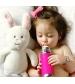Pura® nerezová dojčenská fľaša 325ml- modrá
