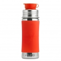 Pura® nerezová fľaša so športovým uzáverom 325ml-oranžová