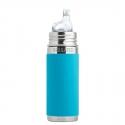 Pura® TERMO fľaša s náustkom 260ml modrá