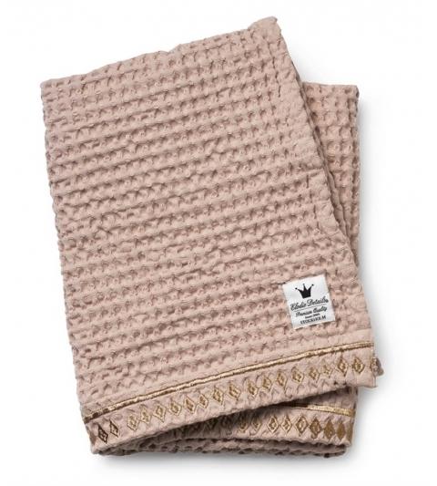 Bavlnená deka-Organic Waffle Blanket-Gilded Powder Elodie Details