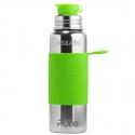 Pura® TERMO fľaša so športovým uzáverom 650ml zelená
