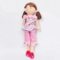 Bonikka látková bábika 46 cm -Whitney – ružová súprava