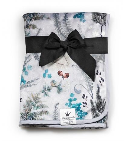 Sametová deka Forest Flora Elodie Details