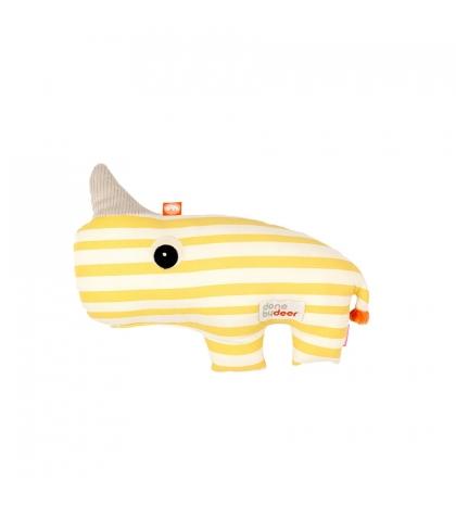 Done by deer mazlivá 2D hračka Nozo žltá