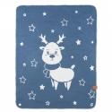 Effiki Reindeer - double deka Modrá 70x90