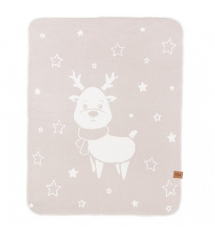 Reindeer - double deka Béžová 90x120