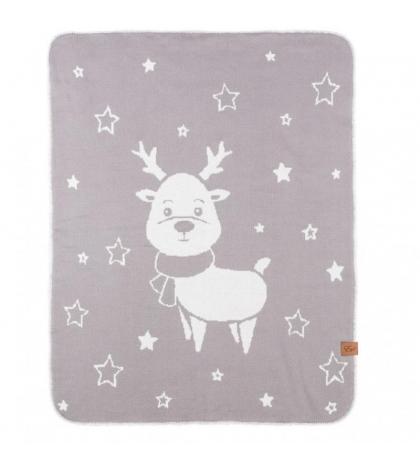 Reindeer - double deka Šedá 90x120