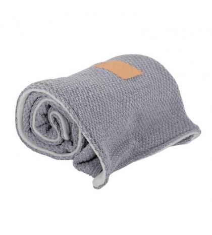 Vlnená & flísová dvojitá deka Gray & Gray