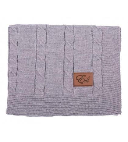 Vlnená deka šedá LARGE