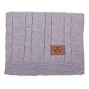 Vlnená deka šedá LARGE Effiki