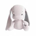 Effiki Effík Bunny ružový so šedými uškami, veľkosť L