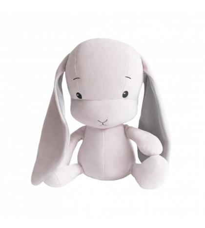 Effiki Effík Bunny ružový so šedými uškami, veľkosť M