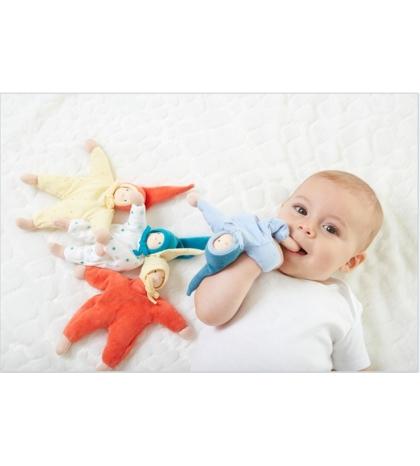 Maznáčik serafín 19cm - modré hviezdy