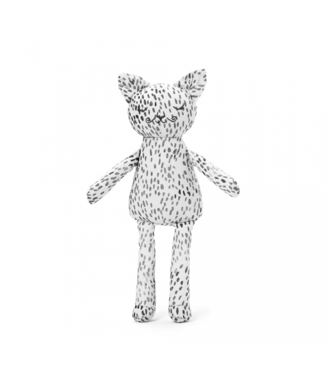 Snuggle - Dots of Fauna Kitty Elodie Details