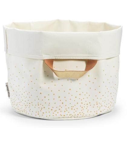 Úložný kôš Gold Shimmer Elodie Details