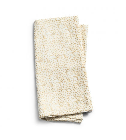 Elodie Details Deka z bambusového mušelínu Gold Shimmer