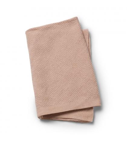 Vlnená deka – Powder Pink  Elodie Details