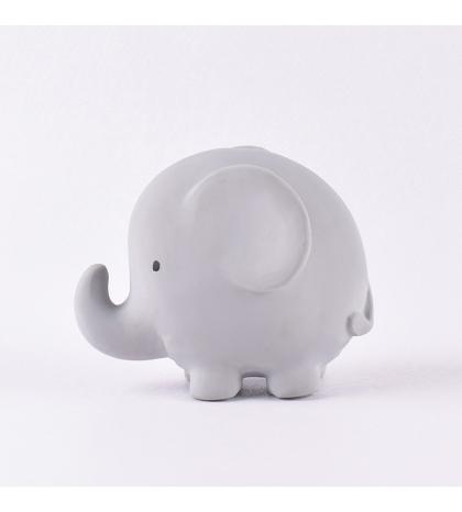Tikiri ZOO - hrkálka a hryzátko z prírodnej gumy - slonik