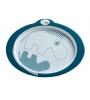Done by Deer  protišmykový tanier contour - modrý