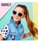 KiETLA CraZyg-Zag slnečné okuliare 6-9 rokov-macacie-ruzova